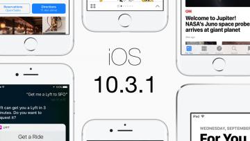 Apple udostępnia iOS 10.3.1 z poprawkami błędów